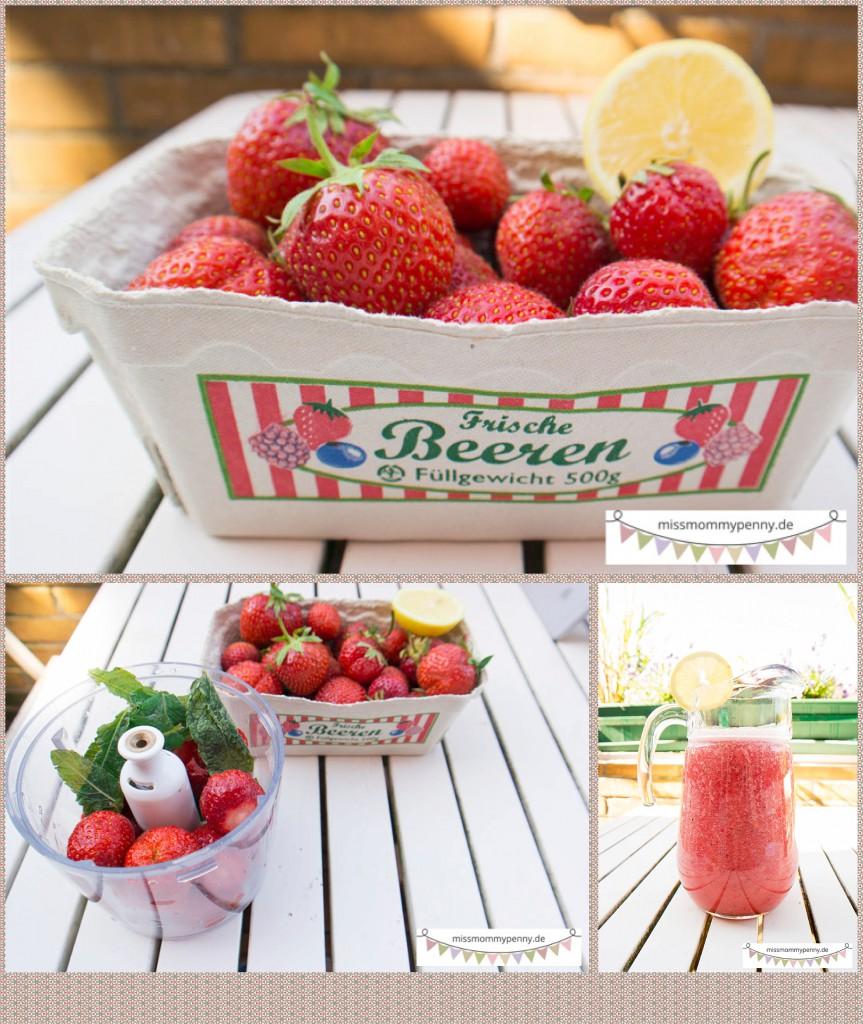 Erdbeerlimo hell