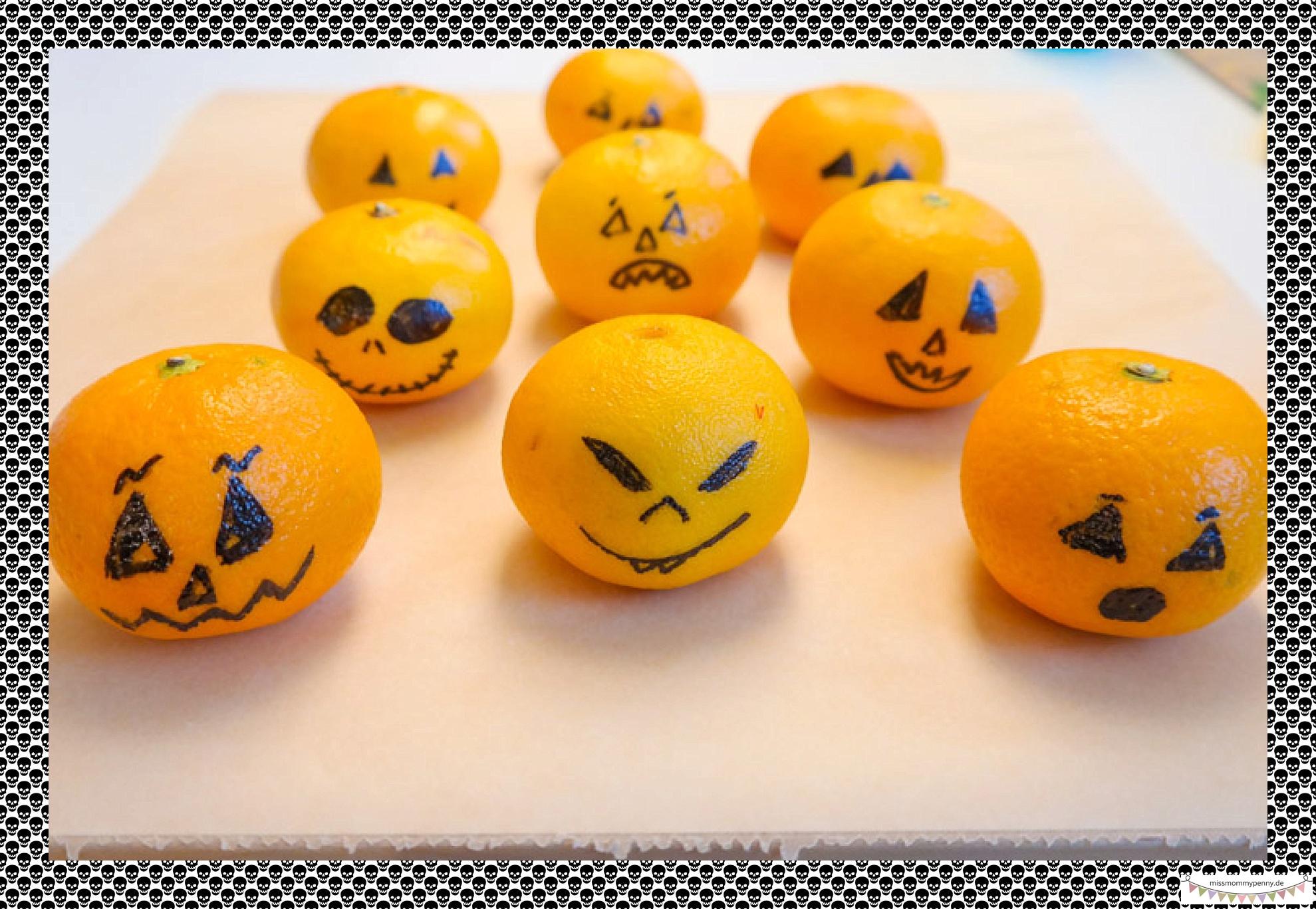 gesunder Halloweensnack