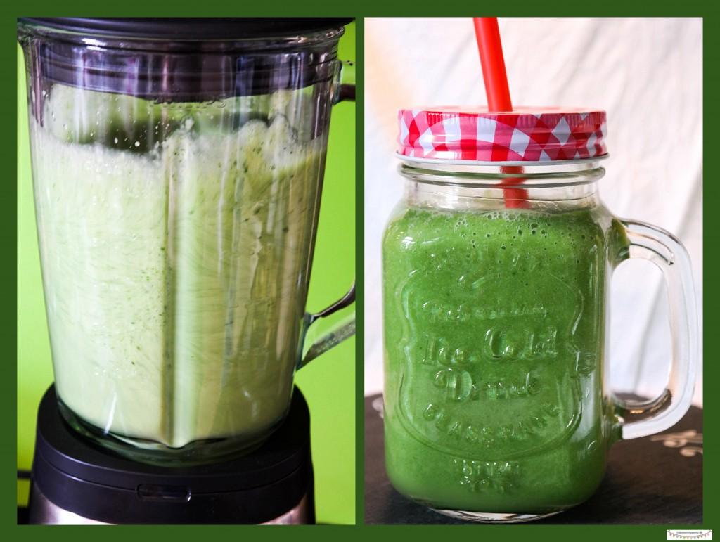 Grüner Smoothie für Kids