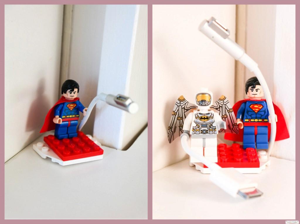 Kabelhalter & Kabelhalterung Legomännchen