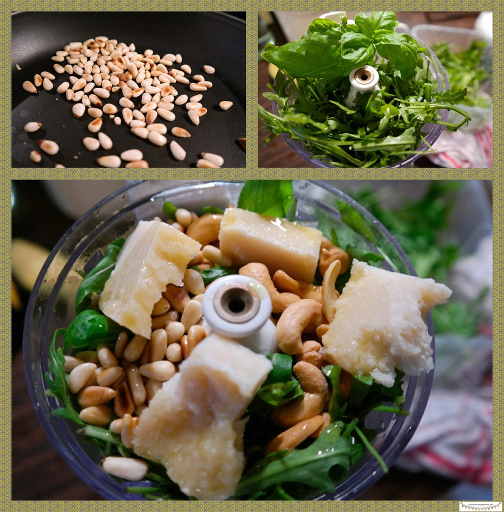 grünes Pesto selber machen