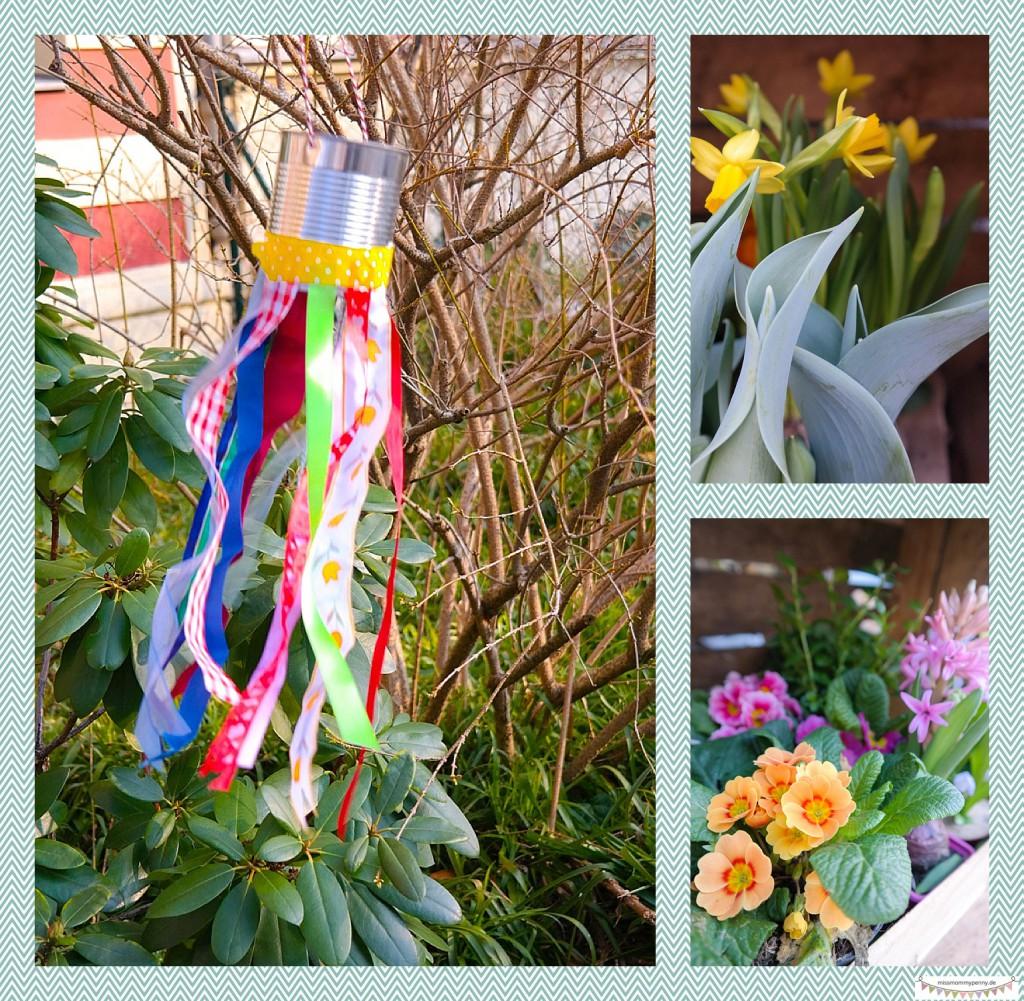 Farbenfrohes Windspiel