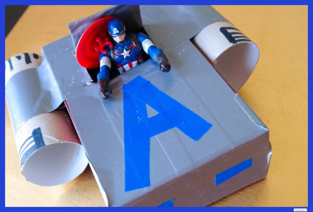 Captain America Spielzeug basteln