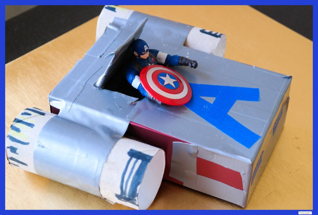 Captain America Raumschiff