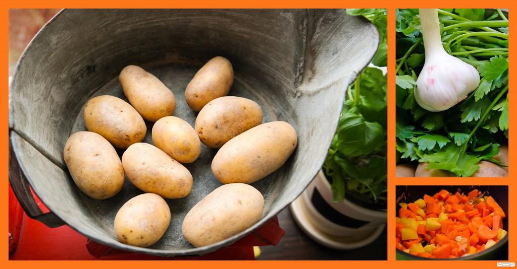 Kartoffelsuppe selberkochen