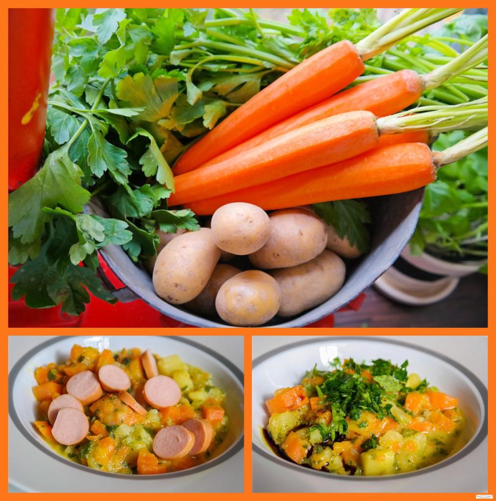 Hausgemachte Kartoffelsuppe