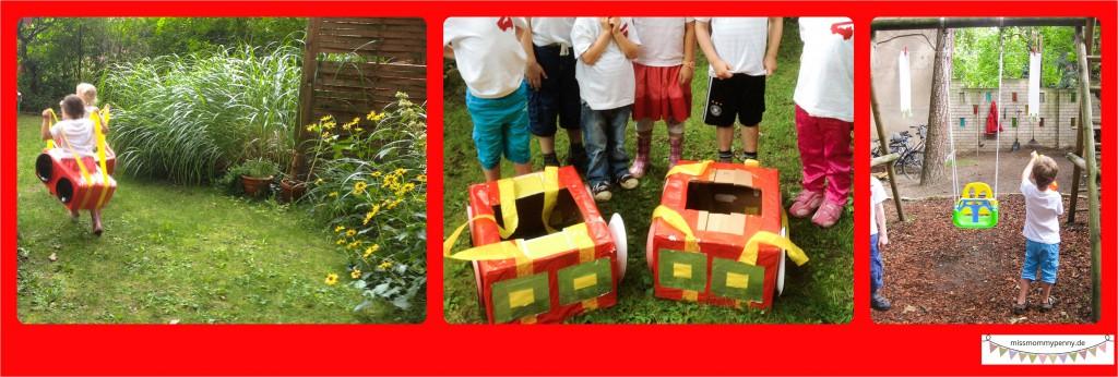 Feuerwehrparty Kindergeburtstag Spielidee
