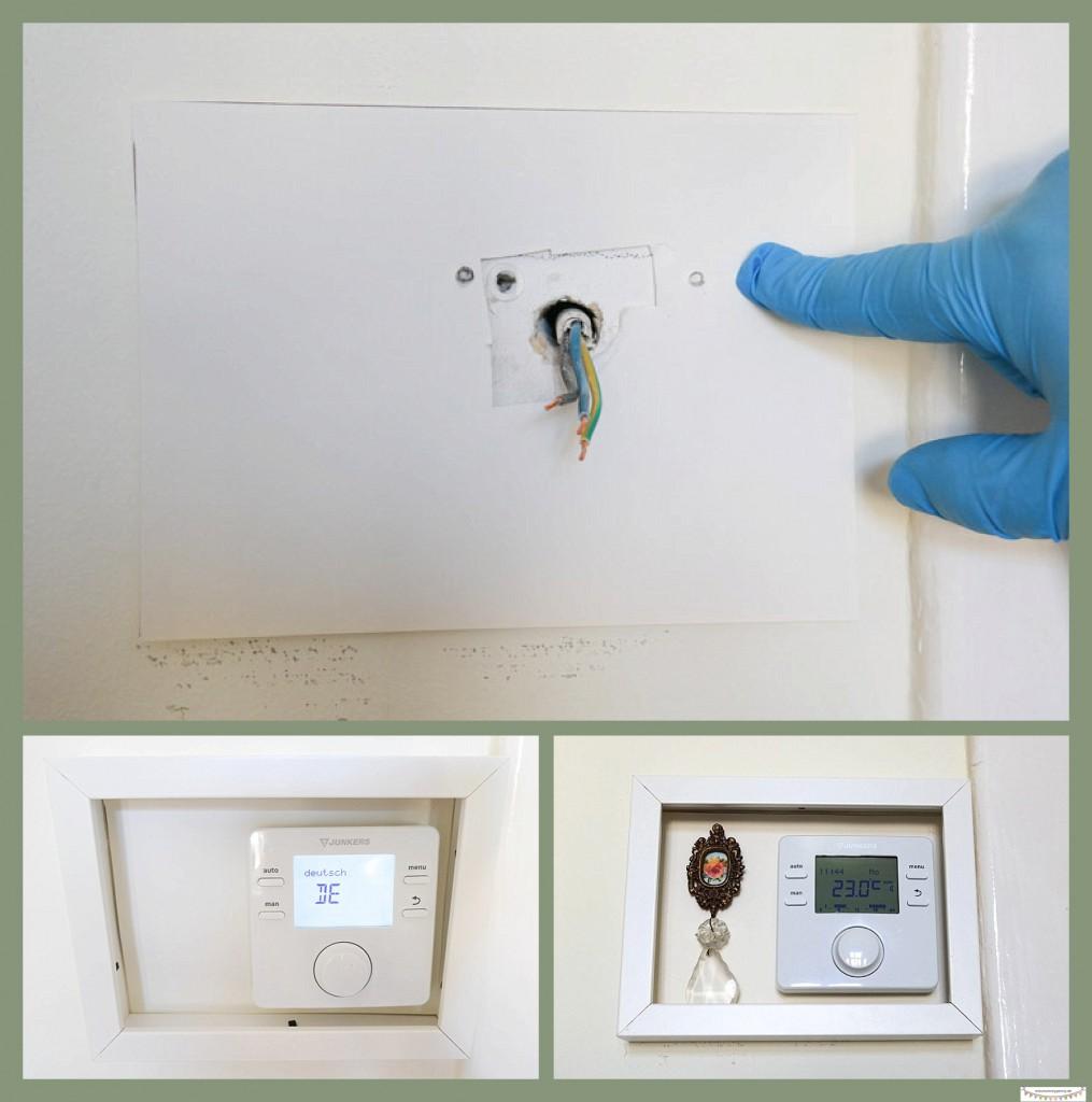 Thermostat einbauen