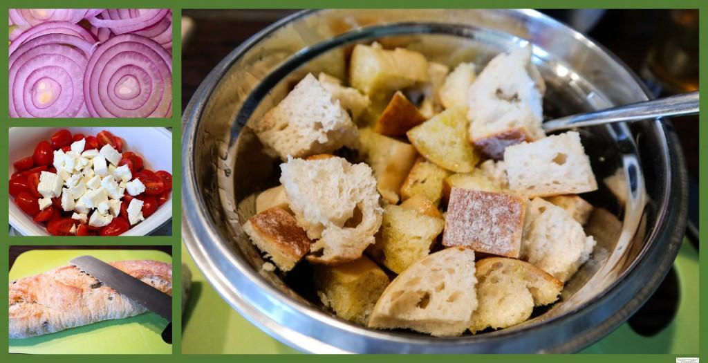 Rezept Tomaten-Brot-Salat