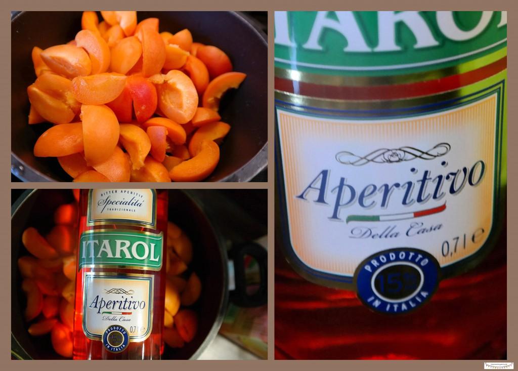 Aprikosenmarmelade mit Aperol