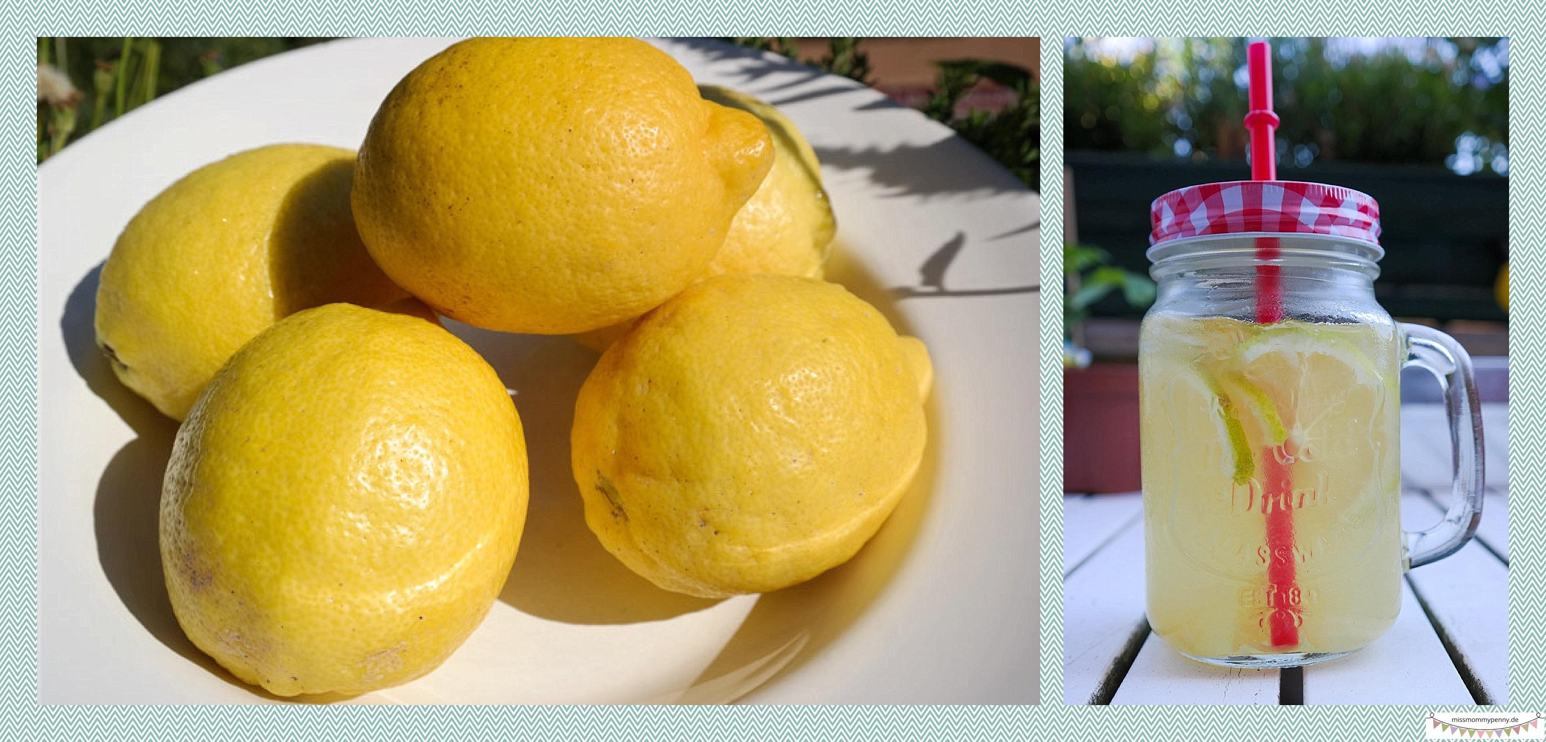 Limonadengläser, Partygetränk