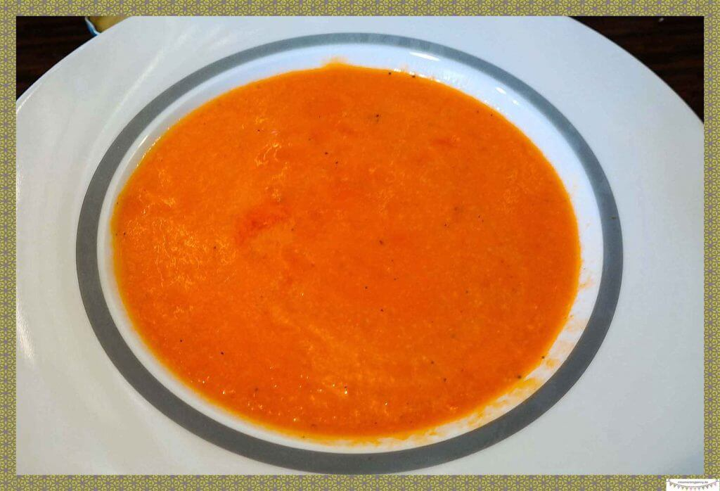 vitaminreiche gesunde Suppe