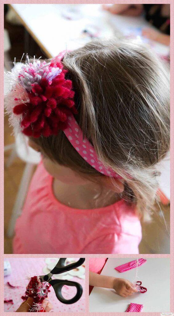 Haarband basteln