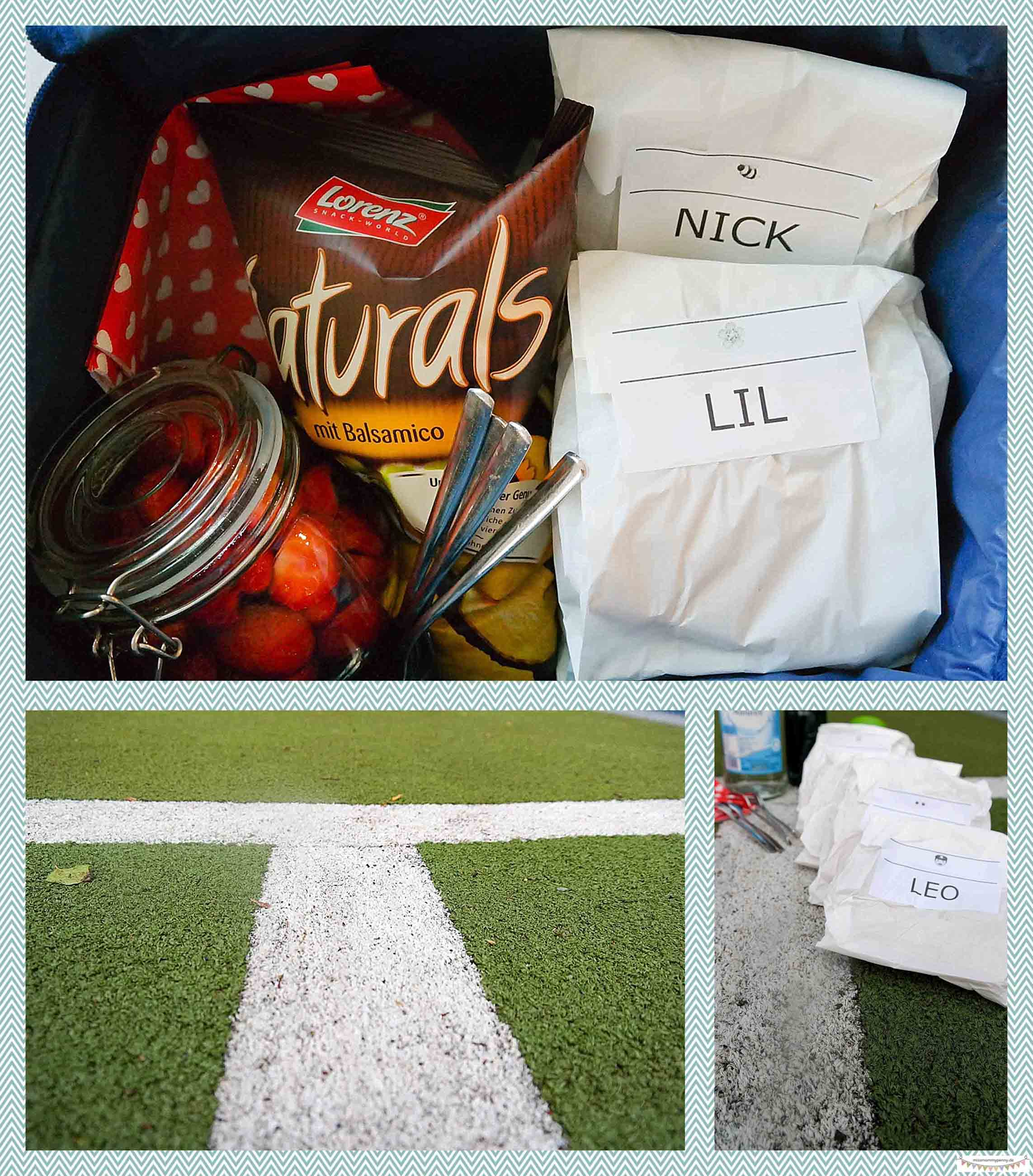 Picknicktasche packen