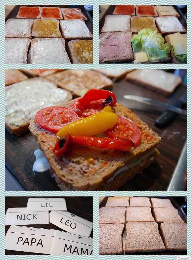 Sandwiches für's Picknick