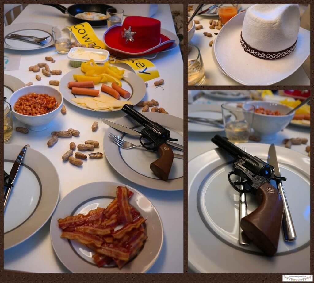 Cowboy-Spaßabedbrot