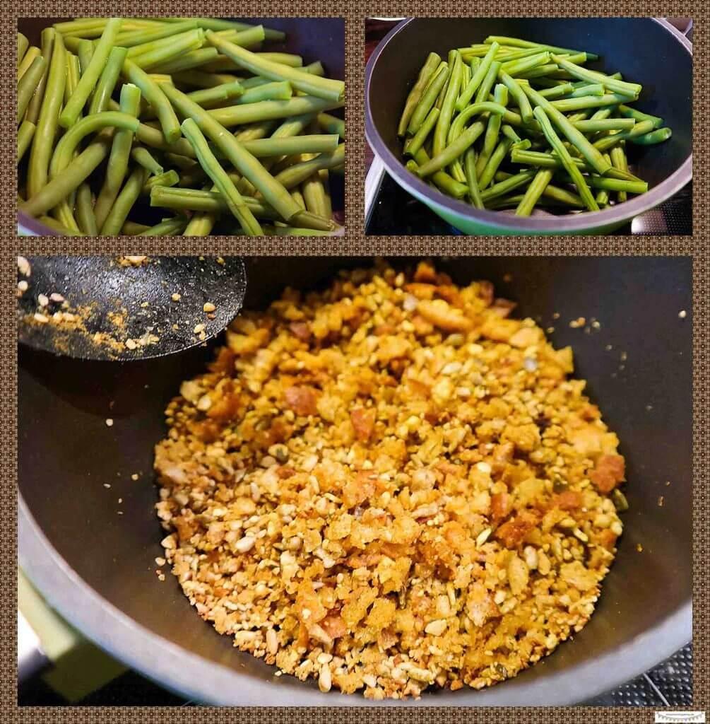 Grünen Bohnen kochen