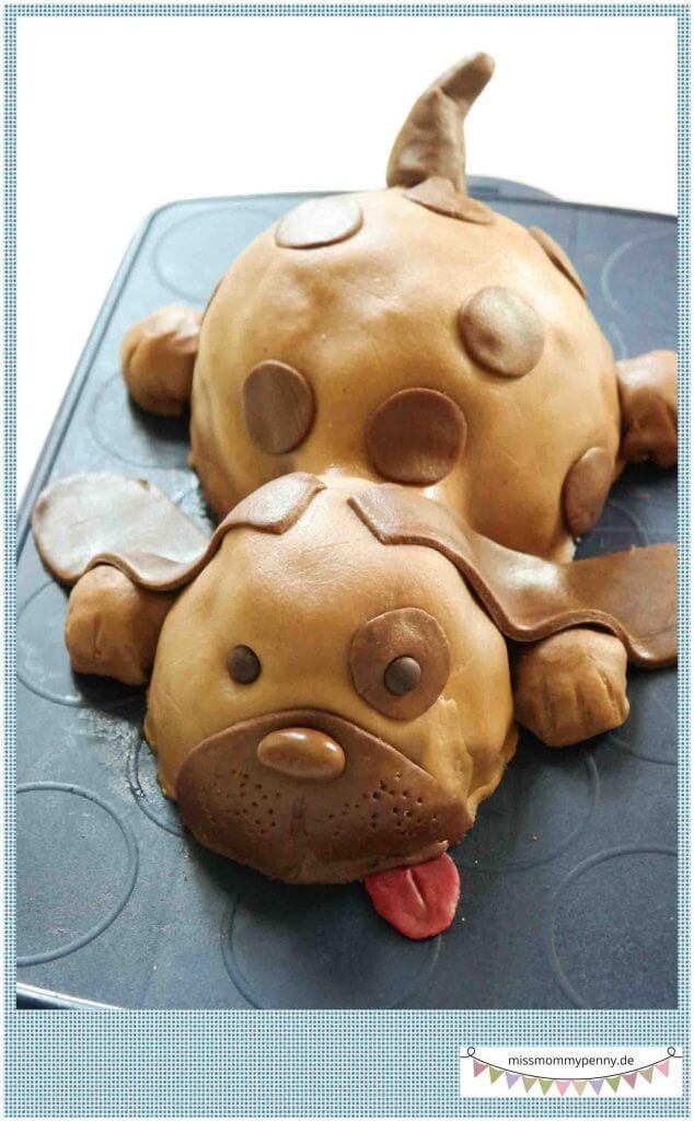 Kinderkuchen - Torte - Hund