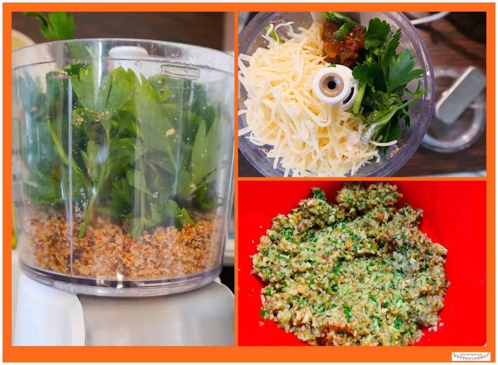 Vegetarische Buletten schnelles Rezept