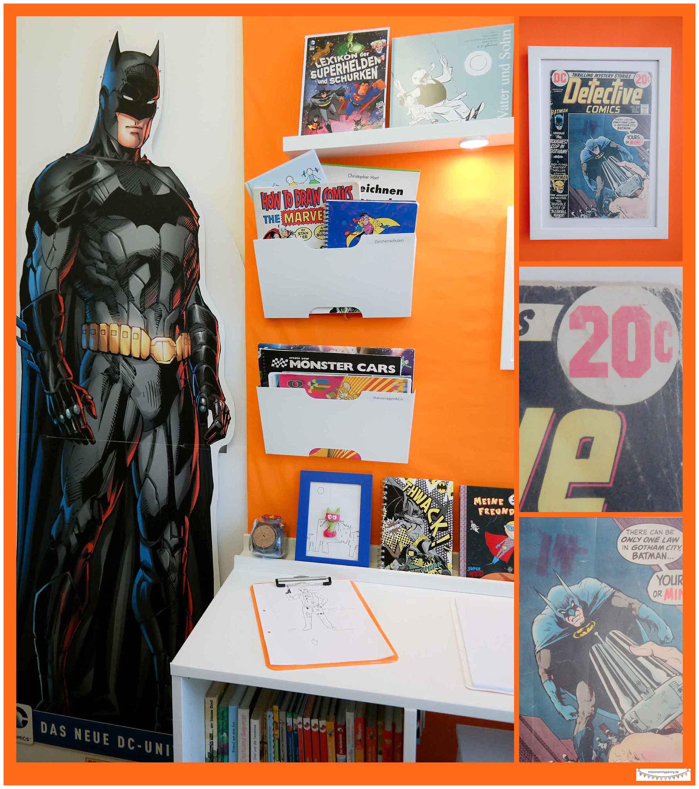 Batman Zimmer Dekotration