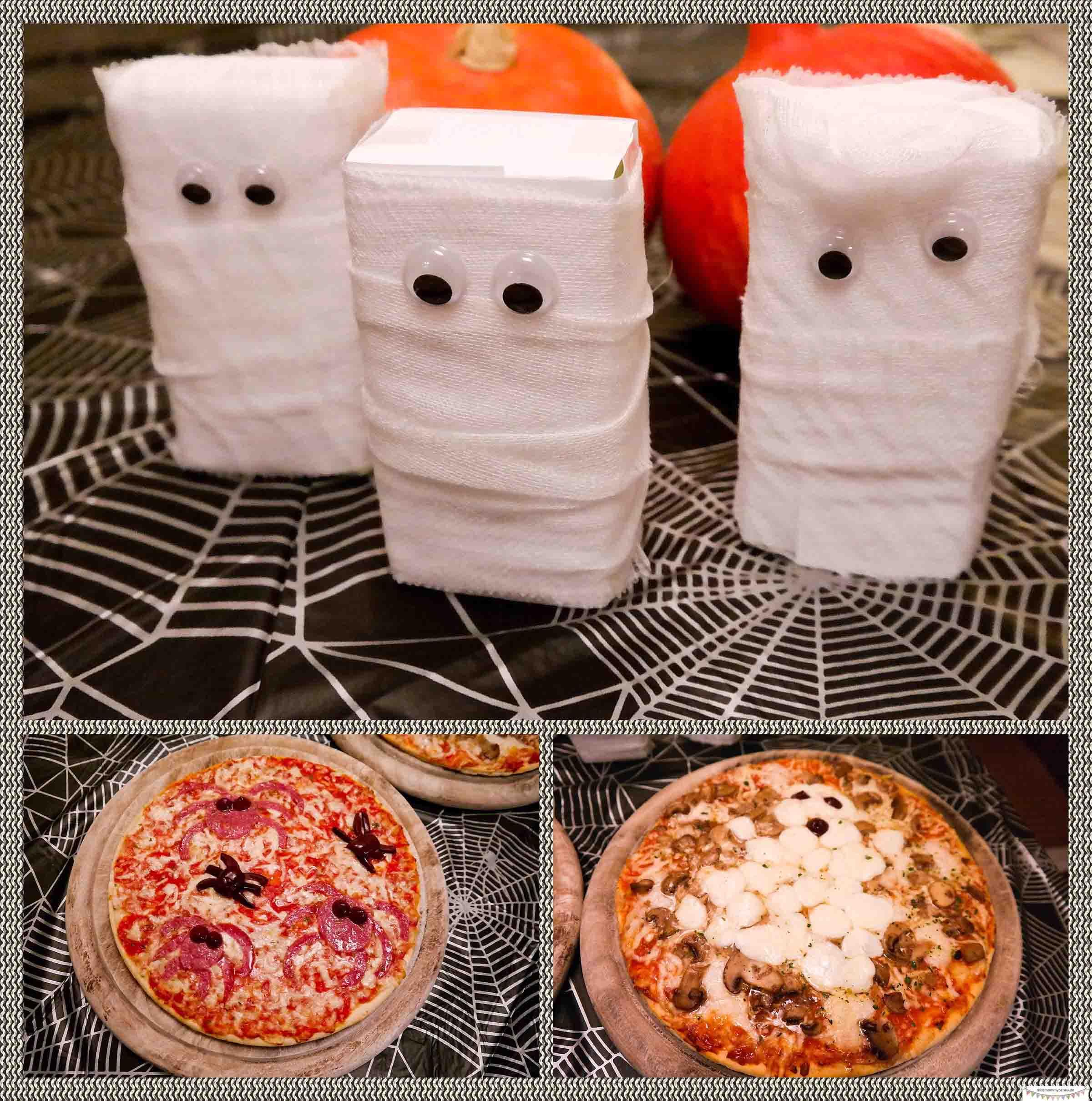 Gruselabendbrot für Halloween