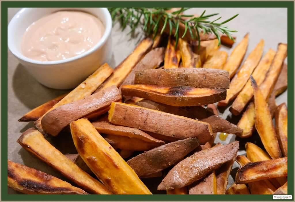 Süßkartoffelpommes selber machen