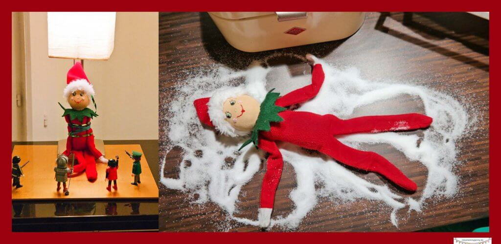 Elf on the shelf Ideen
