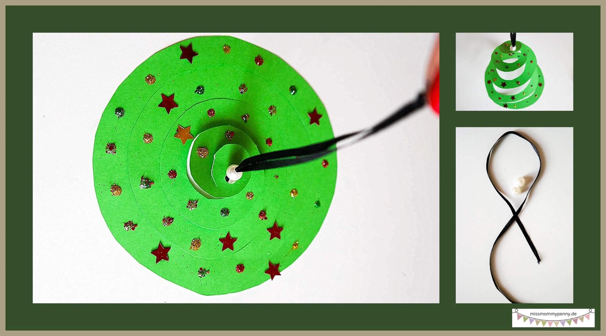 Bastelidee Weihnachtsbaumschmuck selber machen