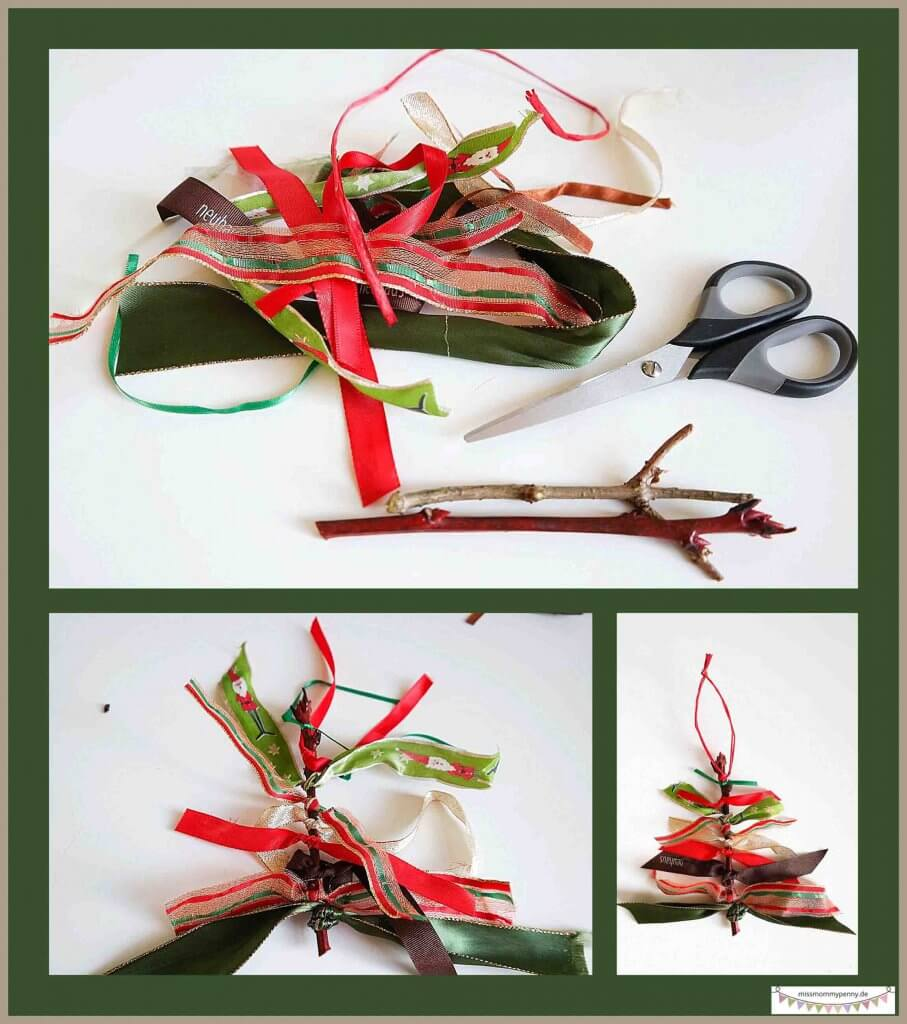 Weihnachtsbaumschmuck selber machen
