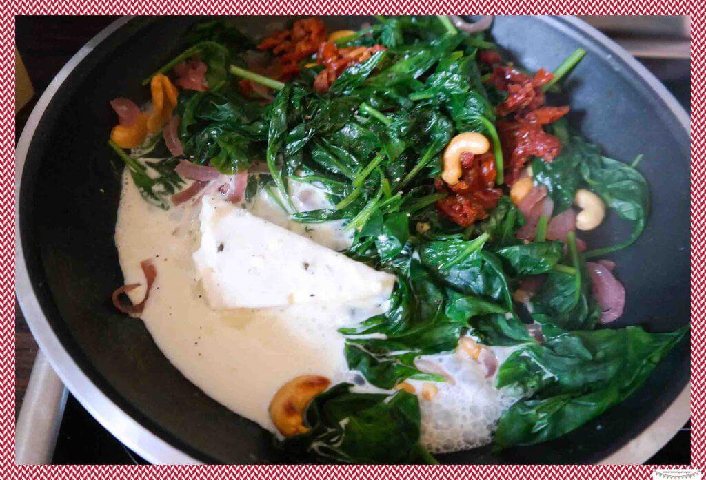 Gerichte mit frischem Spinat