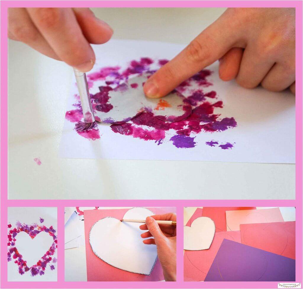 ersönliche Valentinskarten gestalten