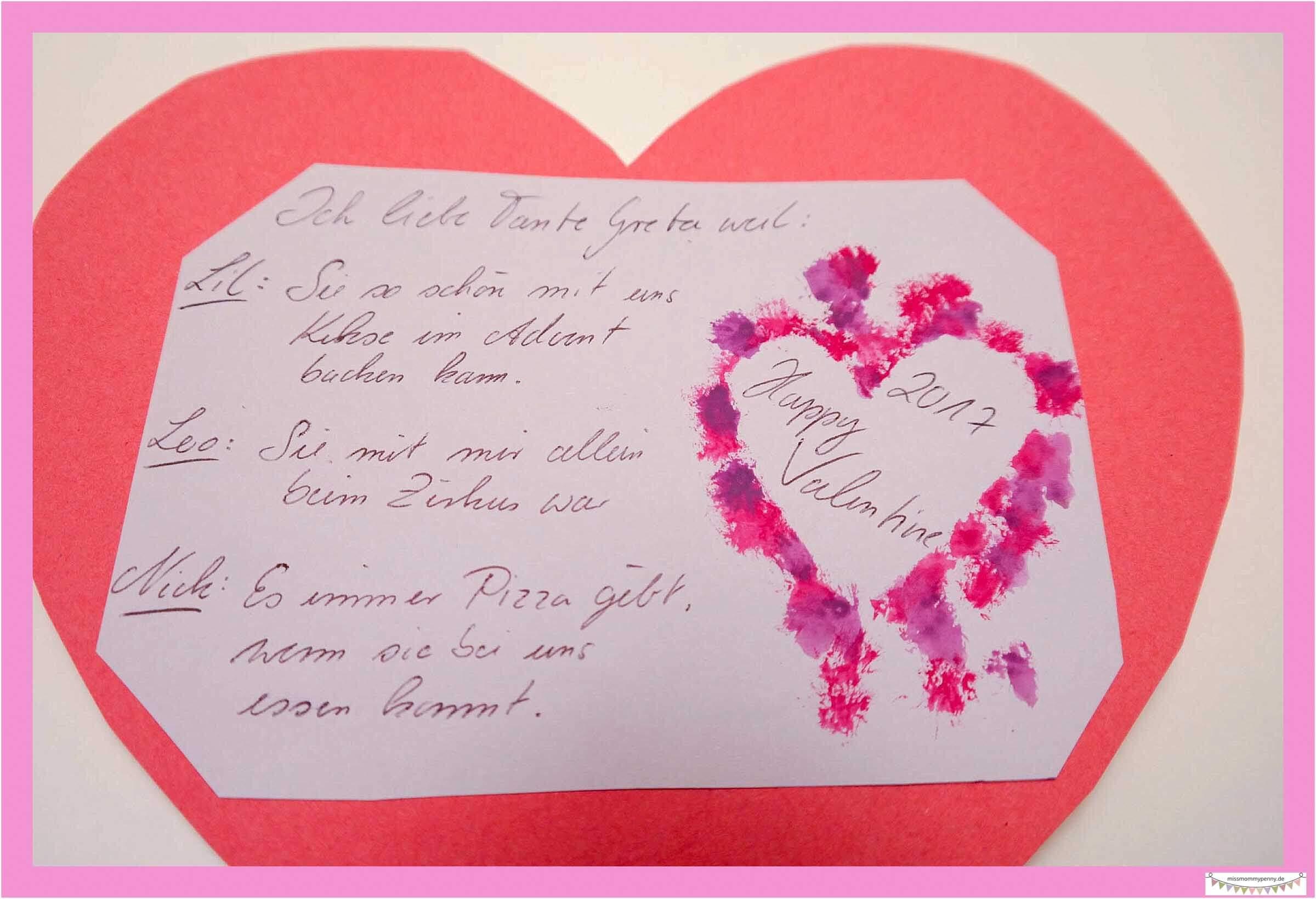 Persönliche Valentinskarten gestalten