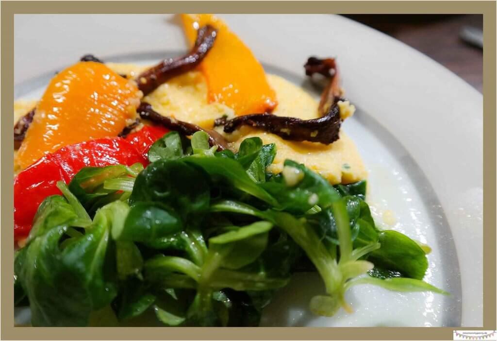 vegetarische Vorspeisen zum italienischen Menü
