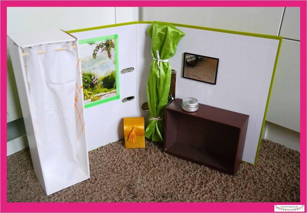 Badezimmer für Barbie bauen