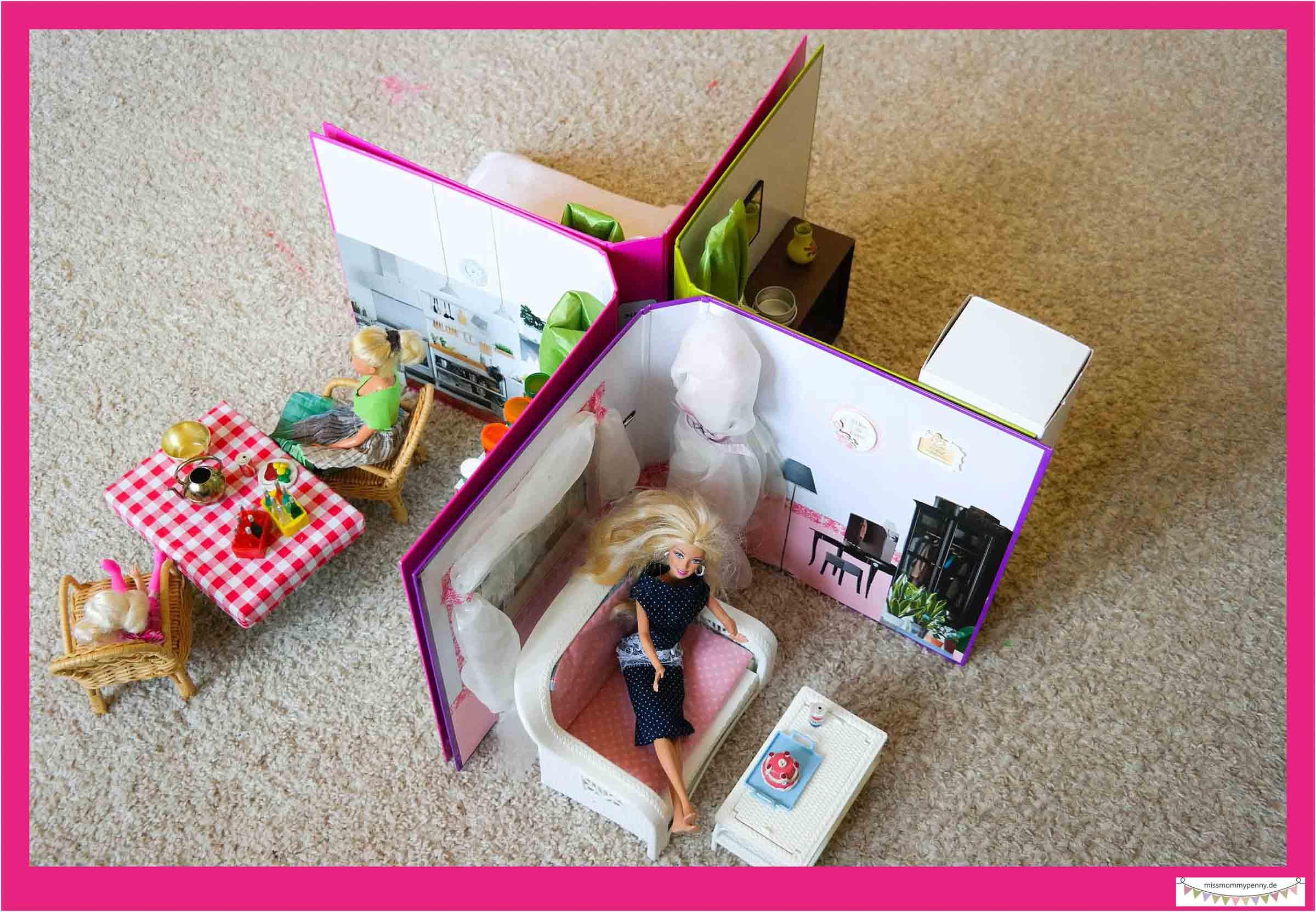 Barbiehaus auf kleinem Raum