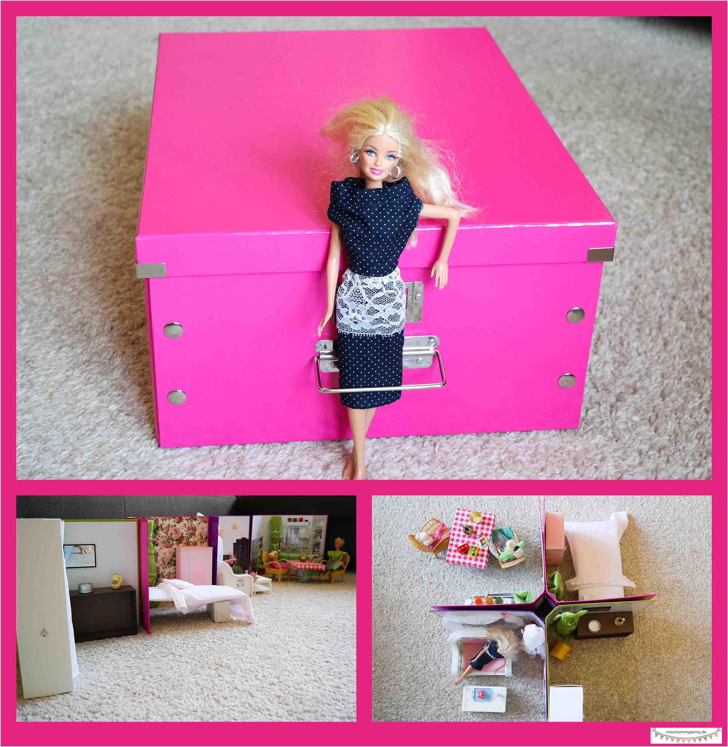 Bauanleitung Puppenhaus , Kleines Barbiehaus