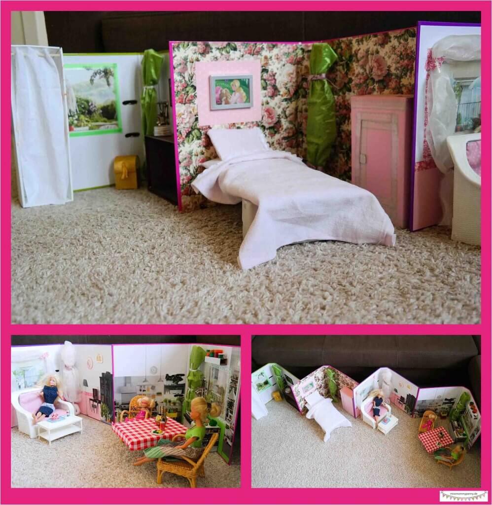 Barbiehaus bauen / Puppenhaus DIY