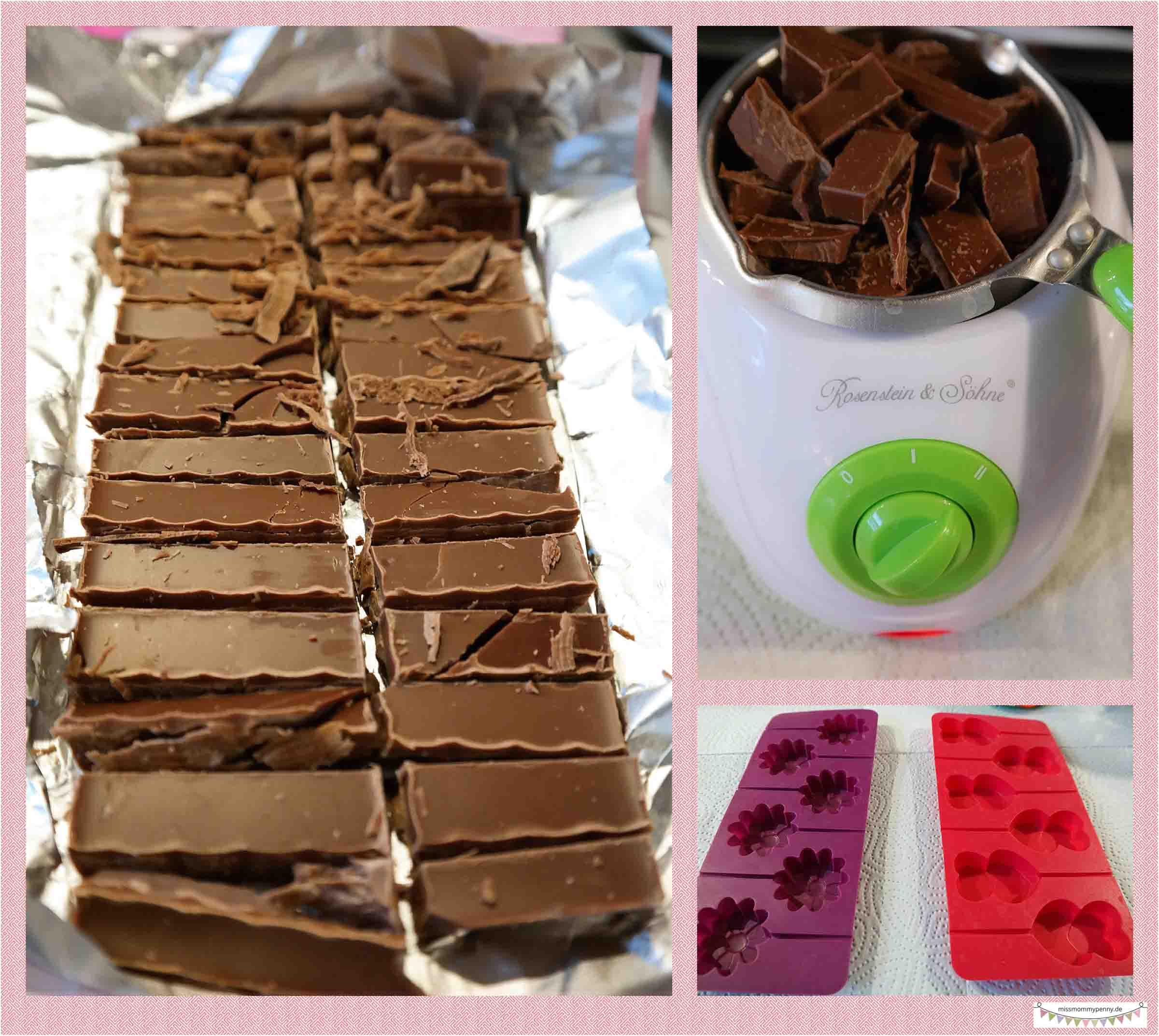 Rezepte zum Schokoladenreste verwenden