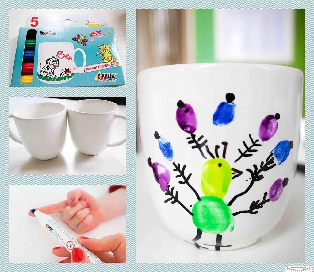 Tassen Mit Keramikalstiften Gestalten Missmommypenny