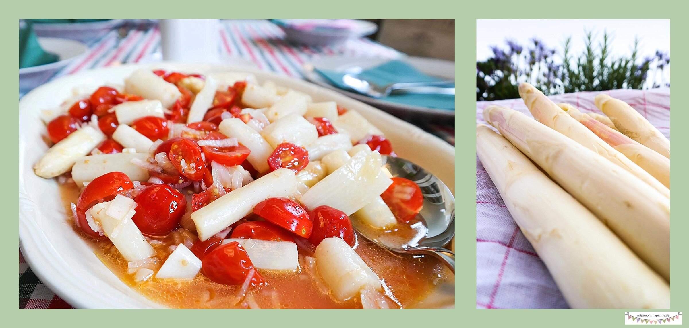 Tomaten-Spargel-Salat
