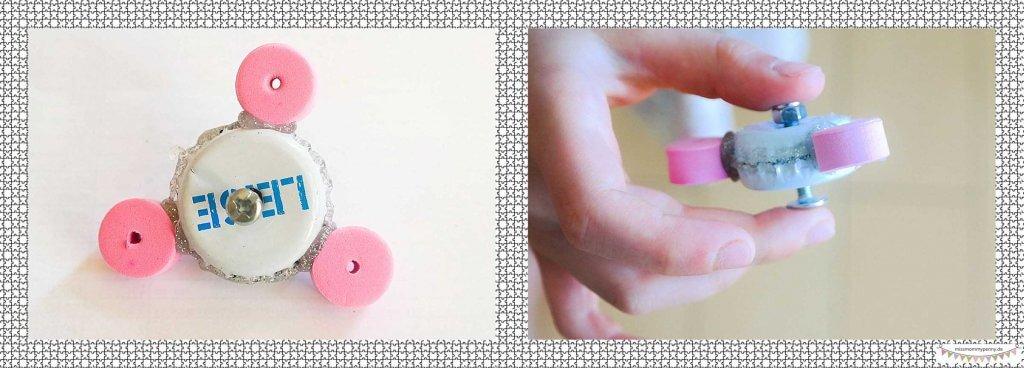 Bauanleitung kleine Handspinner
