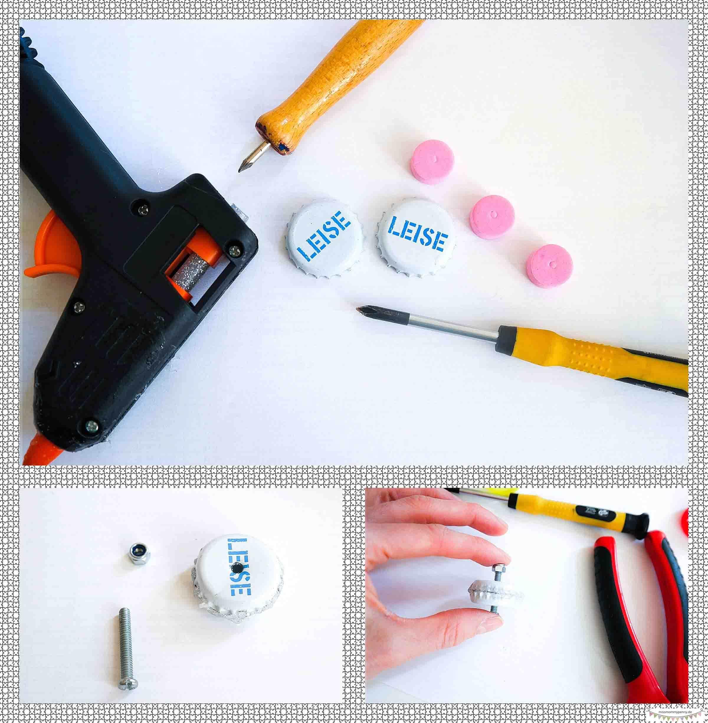 Handspinner bauen