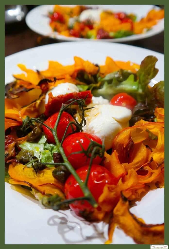 Salat vom Kürbis