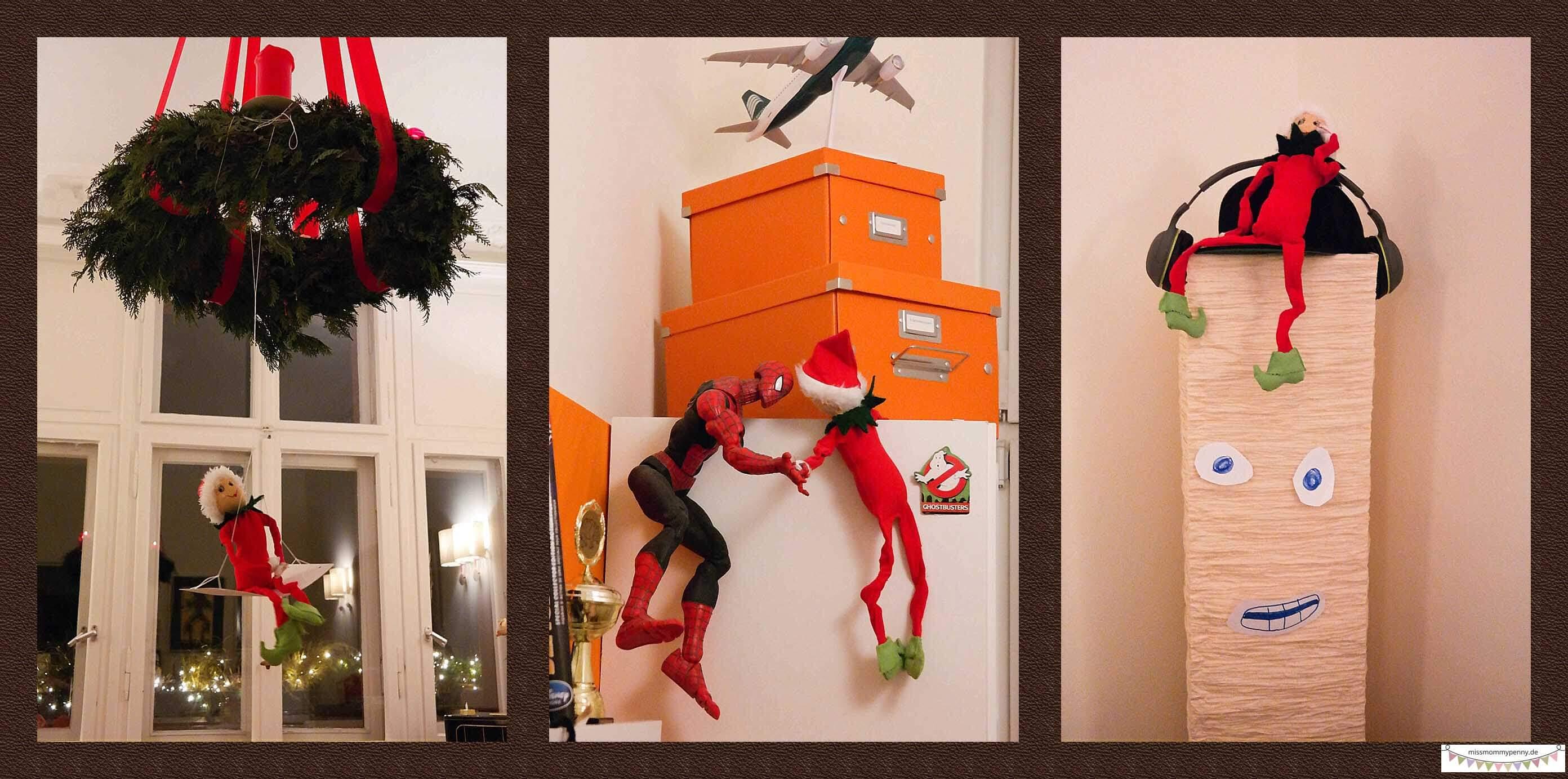 frecher kleiner Elf - Weihnachtstraditionen