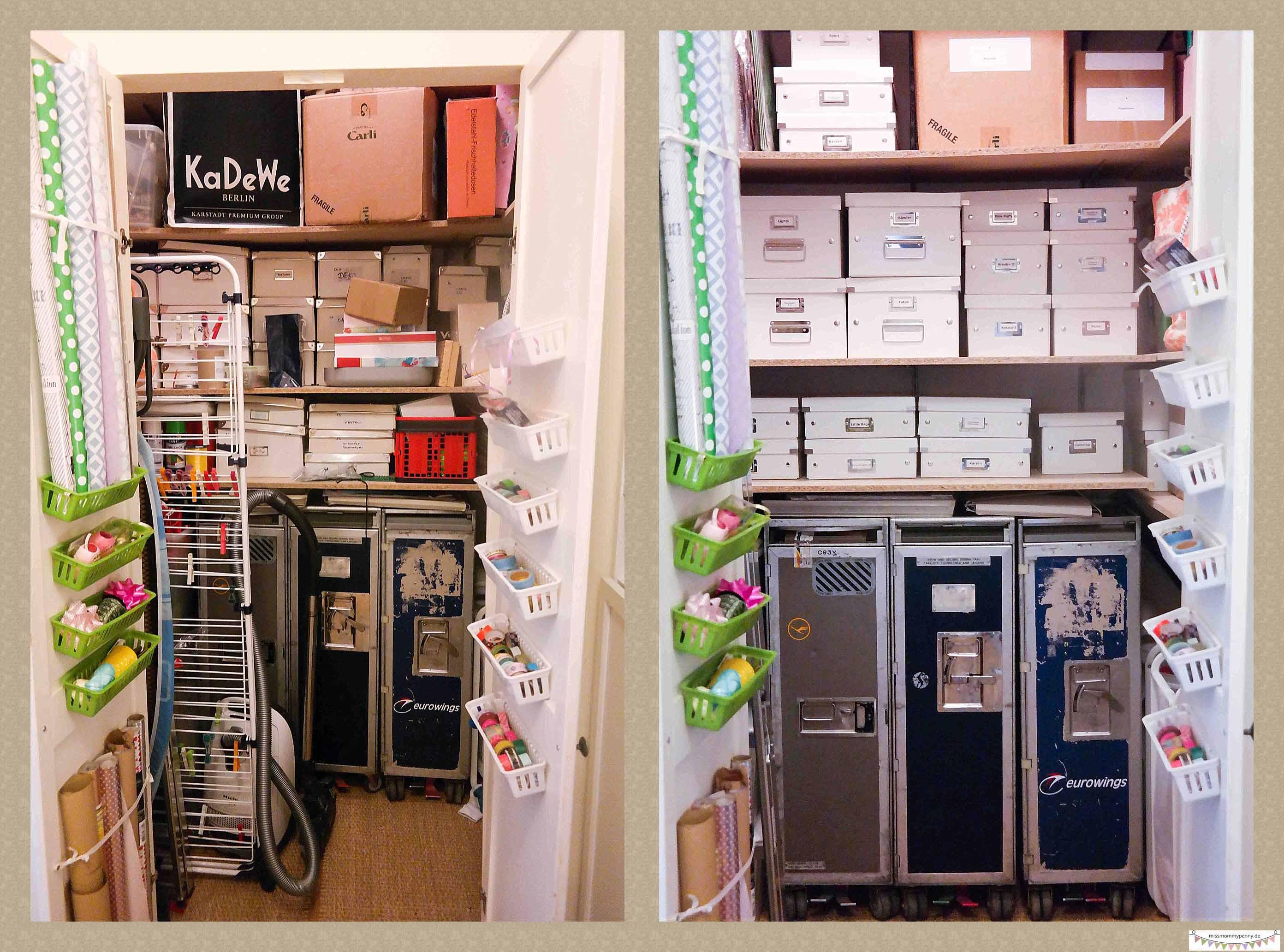 Abstellkammern Mit Click Store Ordnen Und Organisieren Missmommypenny