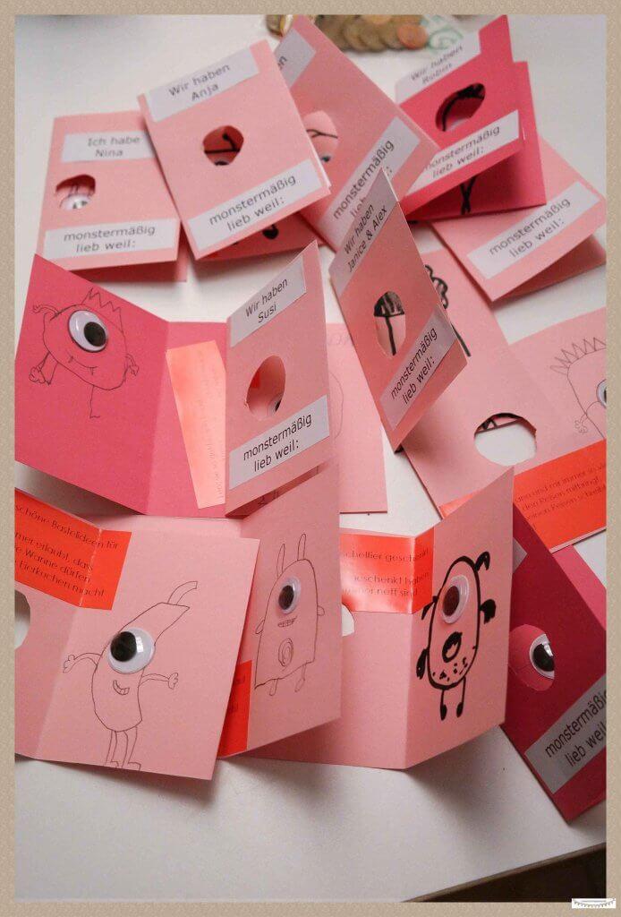 Valentinskarten selber basteln