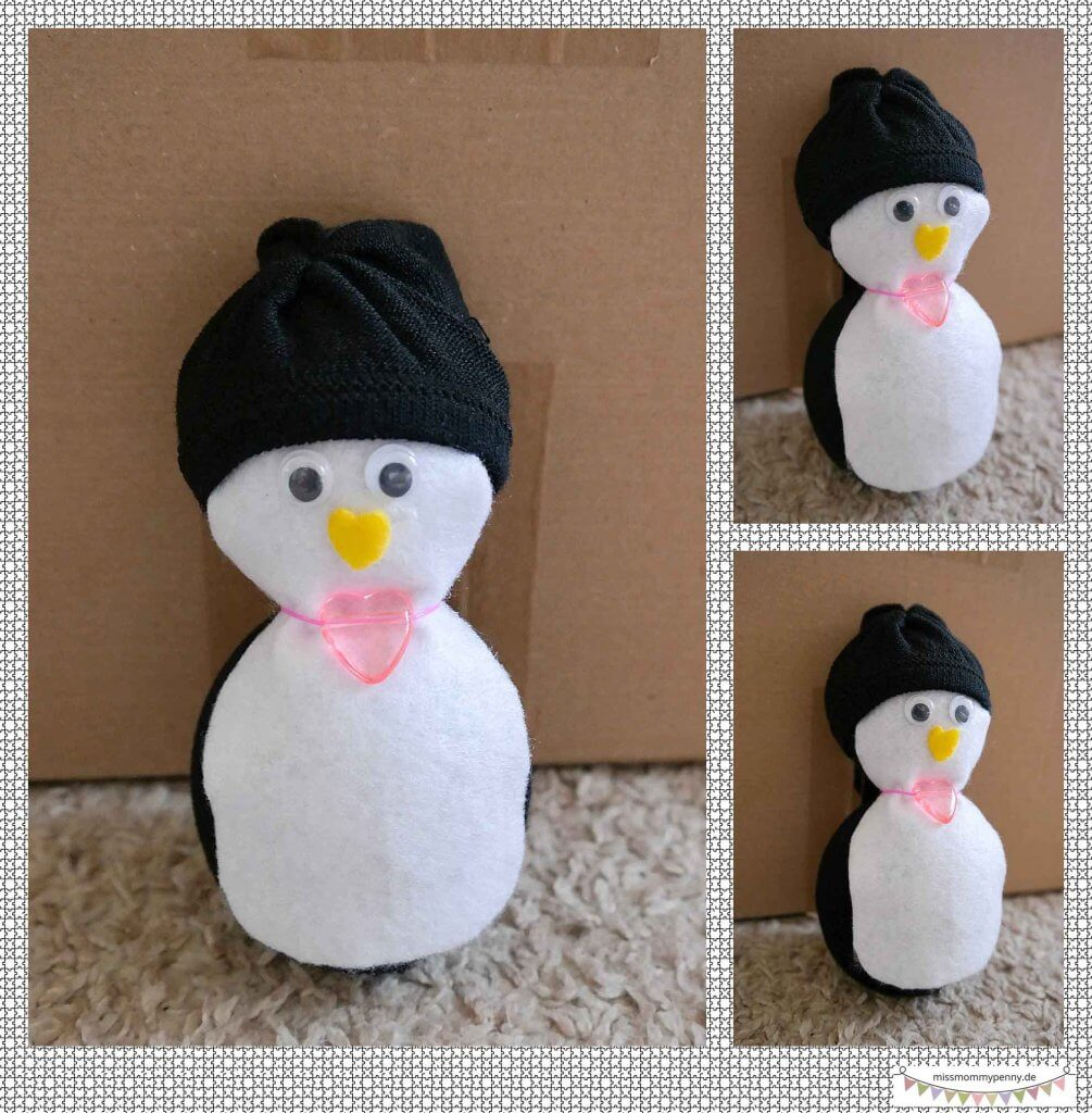 Kuscheltier Pinguin