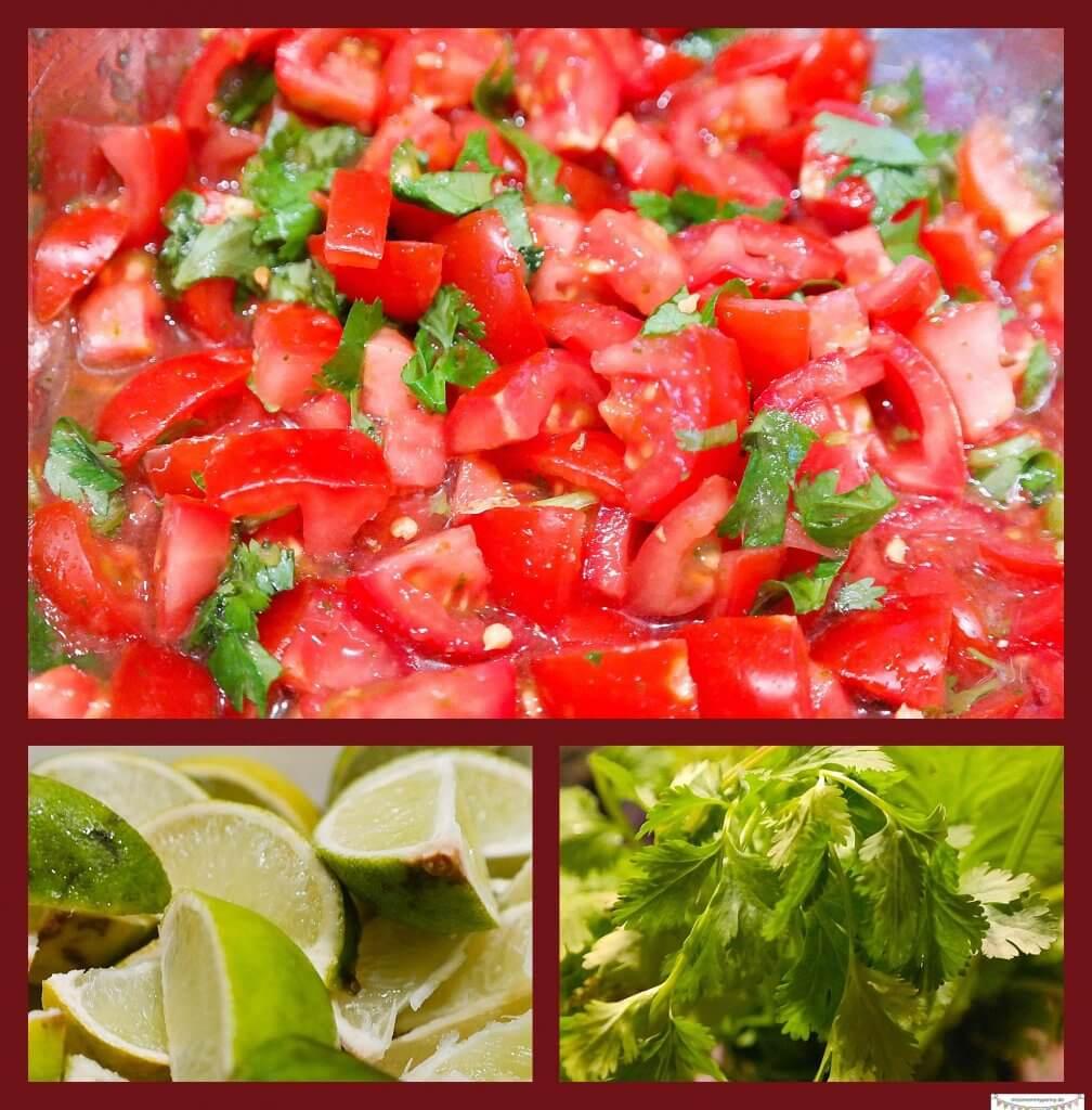 Käsenachos mit Tomatensalsa