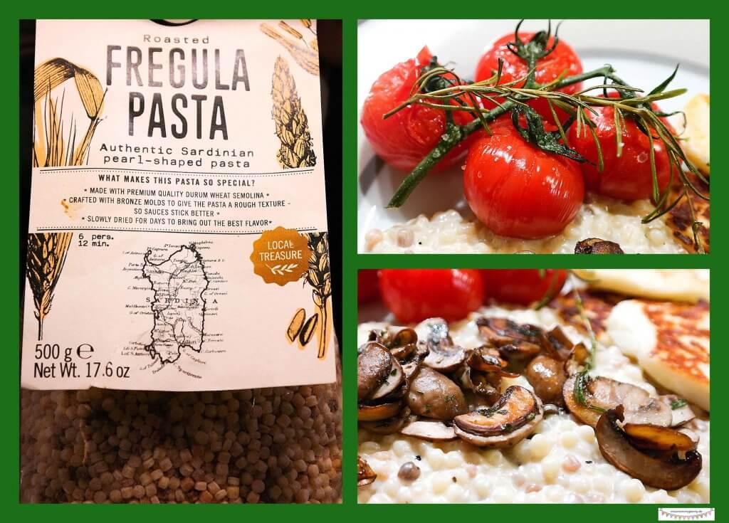 Fregula Sarda Pasta kochen - sizilianische Rezepte